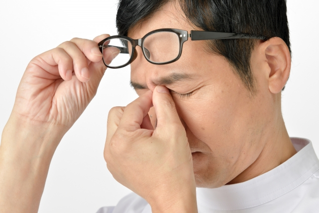 男のアンチエイジング!疲れ目と目元の老化予防策