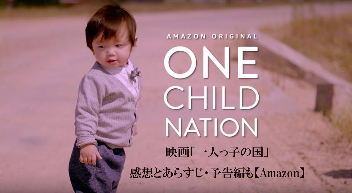 映画「一人っ子の国」感想とネタバレ少あらすじ・予告編も【Amazon】